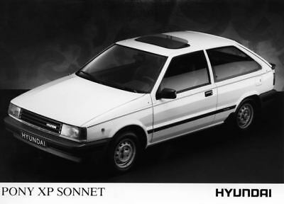 1989 Hyundai Pony XP Sonnet Factory Photo Korea ua3437-NNDKPQ