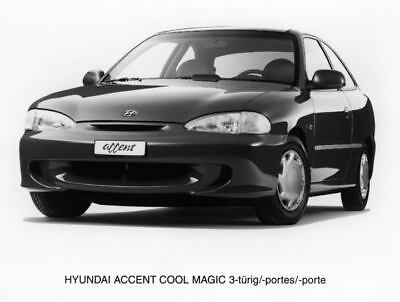 1996 Hyundai Accent Cool Magic Factory Photo Korea ua3451-1OSA35