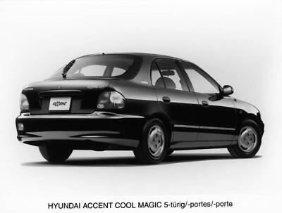 1996 Hyundai Accent Cool Magic Factory Photo Korea ua3452-O2TZEU