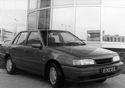 1990 Hyundai Excel Factory Photo Korea ua3469-C2YJBH