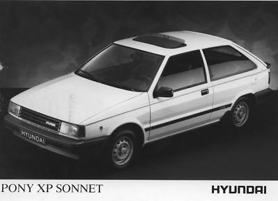 1989 Hyundai Pony XP Sonnet Factory Photo Korea ua3481-Y6CXSZ