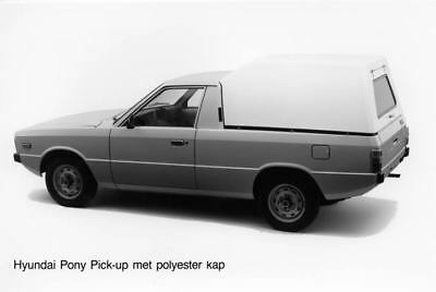 1983 Hyundai Pony Pickup Kap Factory Photo Korea ua3484-ZGAMPI