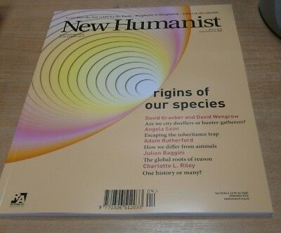 New Humanist magazine WINTER 2018 Origins of our Species, Inheritance Trap &more