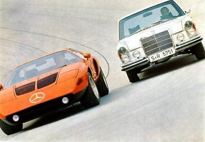 1971 Mercedes Benz C111 Rotary Factory Photo ua5183-HHGDUP