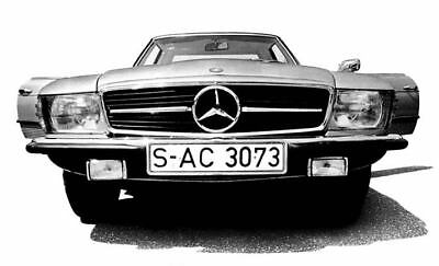1972 Mercedes 350SL Factory Photo ua5261-XLKIHN