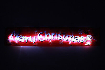 Flashing light up Merry Christmas Xmas party decorations 18 LED fairy lights