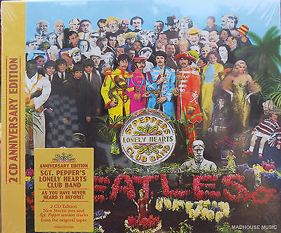 The Beatles CD x 2 Sgt. Pepper's Lonely Hearts Club Band 50th Anniversary DELUXE