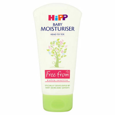 HiPP Baby Moisturiser 75ml Head To Toe Ultra Sensitive Cream
