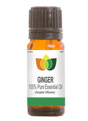 Ginger Pure  Essential Oil Natural Authentic Zangiber Officianle Aromatherapy