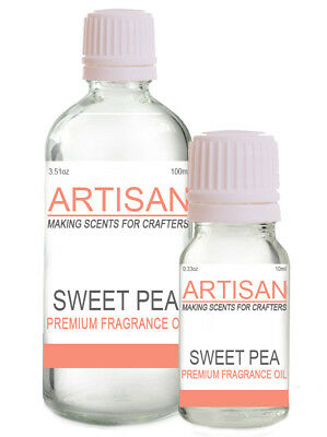 SWEET PEA FRAGRANCE OIL 10ml 100ml for Candles Melts Home Fragrance PotPourri