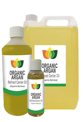 Argan Oil Moroccan Organic Refined Pure Base Carrier Massage Aromatherapy