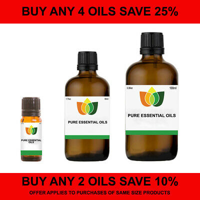 Essential Oils 10ml, 50ml & 100ml Pure & Natural. Choose from over 80 Oils.
