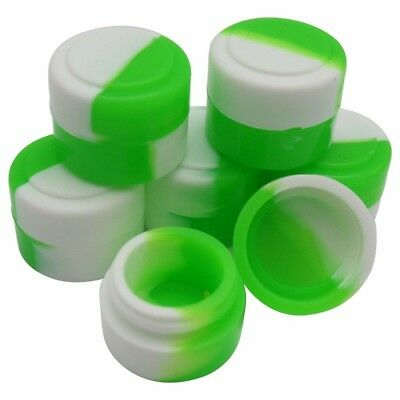 YHSWE 50pcs 2ml Silicone Oil Kitchen Container Dab Wax Concentrate Jar