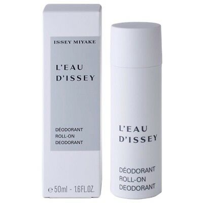 Issey Miyake L'eau D'issey For Women 50Ml Roll-On Deodorant Brand New & Sealed