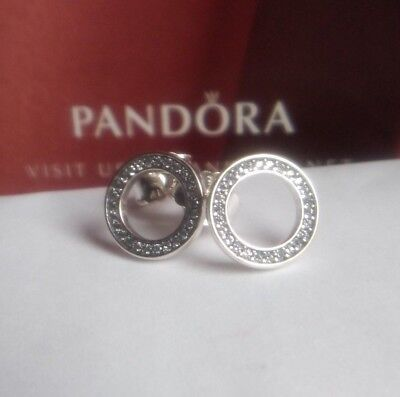 e9bc95ab9 Genuine Pandora Forever Stud Earrings - 290585CZ ALE S925 Sterling Silver