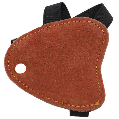 Bow Arrow Archery Hand Guard Protector Leather Hand Glove Hunting Shooting D
