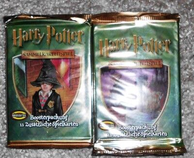 2 Original Harry Potter Booster