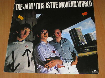 The Jam - This is the modern world LP 1977 Punk    ( 9 )