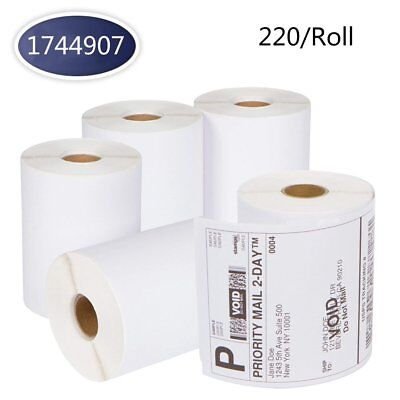 DYMO 4XL 4x6 Direct Thermal Shipping Labels Roll 1744907 Compatible - 220/Roll