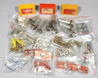 Lot Of (40+) F/F Model Airplane Engine Timers. Clockwork & Pneumatic. Most NEW!
