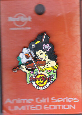 Hard Rock Cafe Pin: Biloxi Anime Girl Series le200