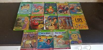 Lot of 14 Leap Frog TAG Reader Hard Cover Books