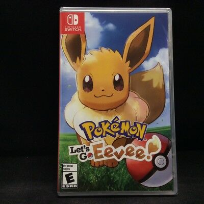 Pokemon: Let's Go Eevee! (Nintendo Switch, 2018) BRAND NEW/ Region Free
