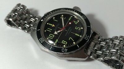 Wostok Amphibian Diver 2409  made in USSR Vostok 200m  Amfibia