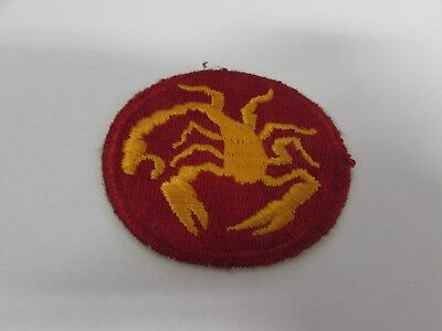 WWII US Army 22nd Infantry PHANTOM division patch.