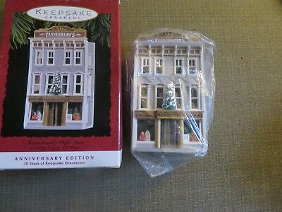 Hallmark Nostalgic Homes and Shops Tannenbaum's Dept Store Anniversary Edition