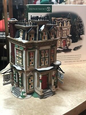 Department 56 Dr Attorney 56610 Hale and Hardy House New England Village MIB