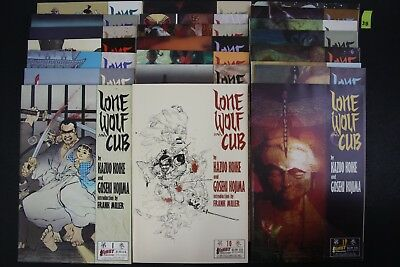 Vintage 1980's First Lone Wolf and Cub Graphic Novel 22x Manga LOT READ PS38