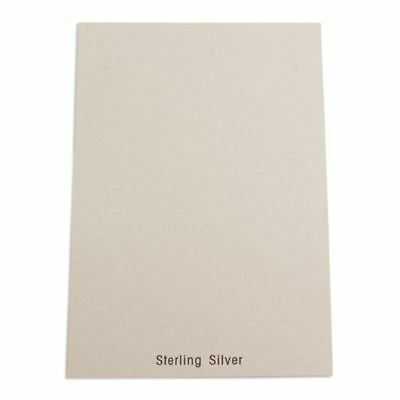 """200pc Pack """"Sterling Silver"""" Earring Cards 5.25"""" x 8"""""""