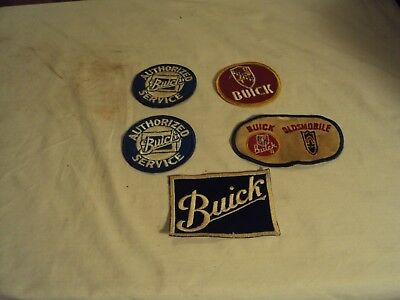 5 Buick Patches G.m. Oldsmobile Used