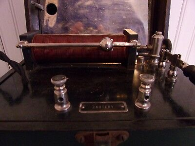 Antique Vintage Electric Medical Device UNIVERSAL CAUTERY TRANSFORMER