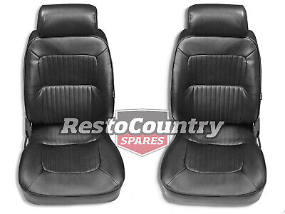 Autotecnica Classic Deluxe Sports Bucket Seat PAIR May fit Holden HQ HJ HX HZ WB