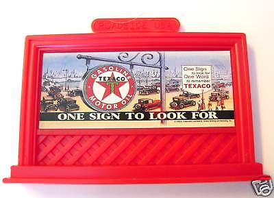 BILLBOARD TEXACO Advertising Magnet Service Station Gas Motor Oil Lefton '95 MIB