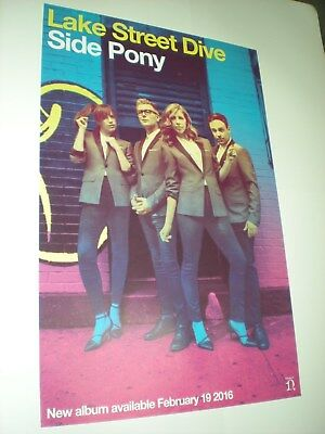 POSTERS lot by LAKE STREET DIVE side pony For the BANDS promo tour album cd *