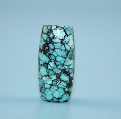 32*16 mm Antique Undressed dzi turquoise old Bead from Tibet **Free shipping**