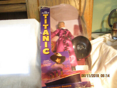 History of Titanic Doll-Margaret Brown-Unsinkable Molly Brown-Org Box-Limited to