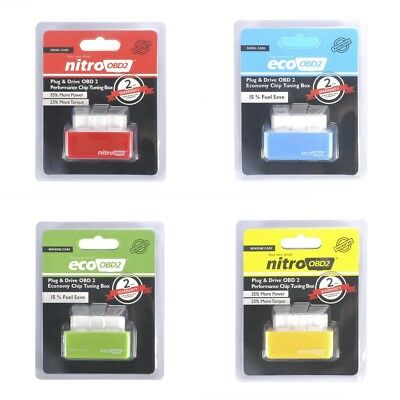 Drive Nitro obd2 ECO Chip Fuel Saver Tuning Box for Diesel/Benzine Cars
