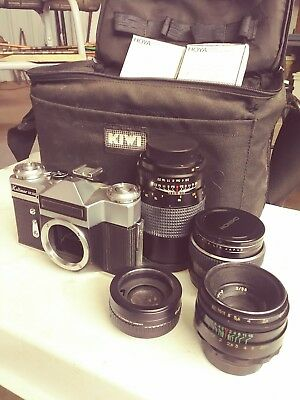 Vintage Kalimar Sr200 35Mm Film Camera Made In Ussr