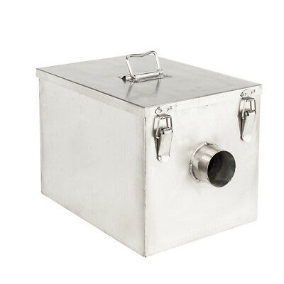 8LB 5GPM Grease Trap Stainless Steel Interceptor Filter Kit