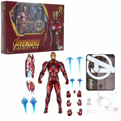S.H. Figuarts SHF Avengers Infinity War Iron Man Mk50 Action Figure Deluxe US