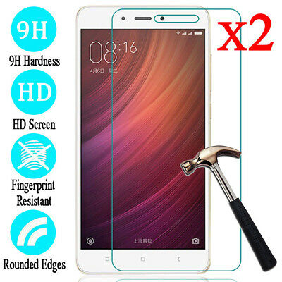 For Xiaomi RedMi 6 5 Plus Note 5 2 Pro Tempered Glass Film Screen Protector 2PC