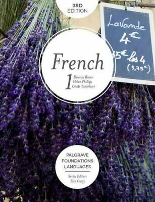 Foundations French 1 by Dounia Bissar 9781137579195 (Paperback, 2016)