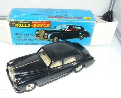 OK Toys,1960's, Large Rolls-Royce Silver Cloud saloon in repaired original box