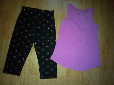 Justice 2 Piece Girls Outfit Size 8-10