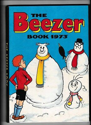 The Beezer Book/annual 1973 Good Condition Not Price Clipped