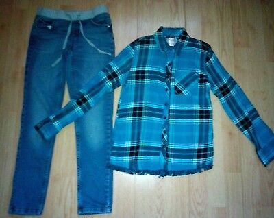 Justice 2 Piece Girls Outfit Size 8 & 10